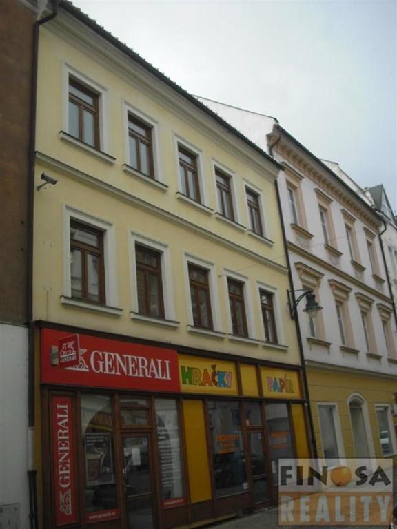 Nájem atraktivního obchodního prostoru v centru Chomutova