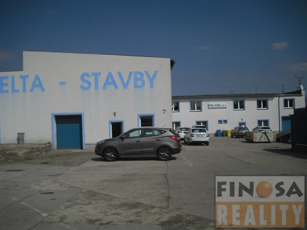 Nájem kancelářských prostor na okraji Chomutova.