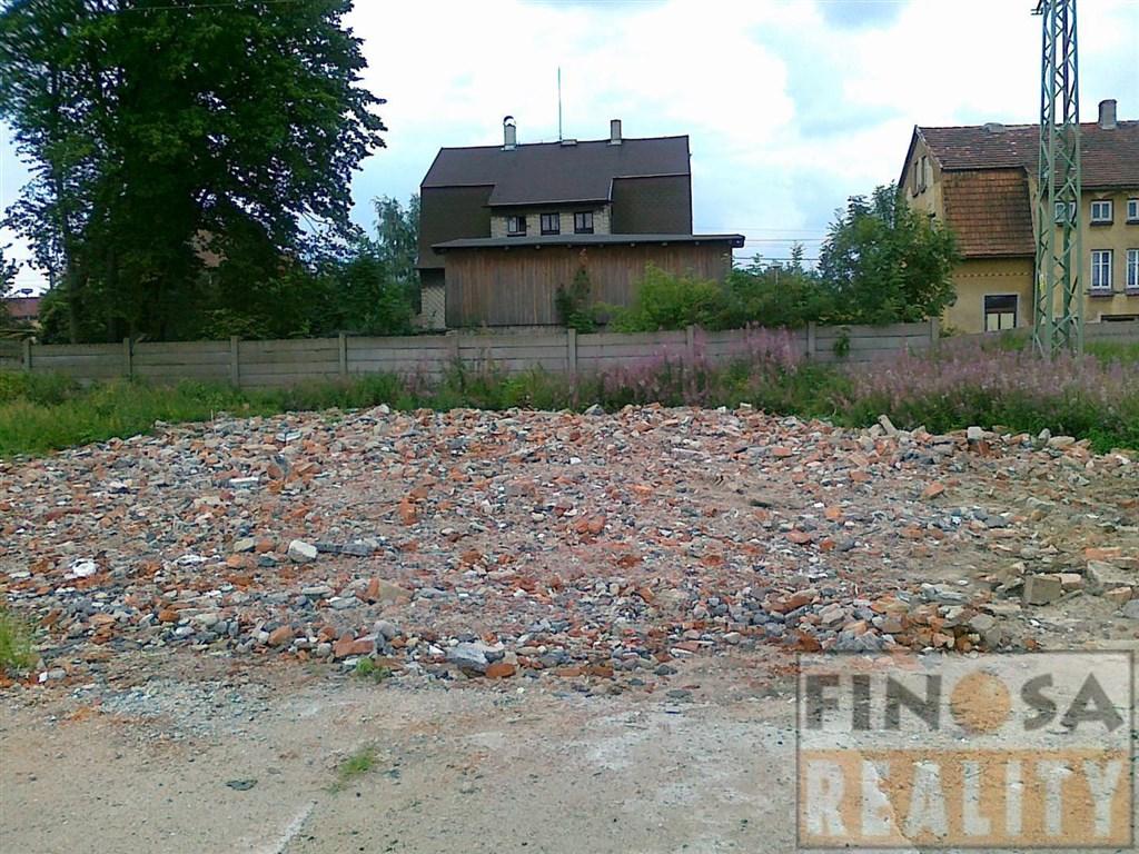 Stavební pozemek pro komerční využití v Jiříkově u Rumburka, okr. Děčín