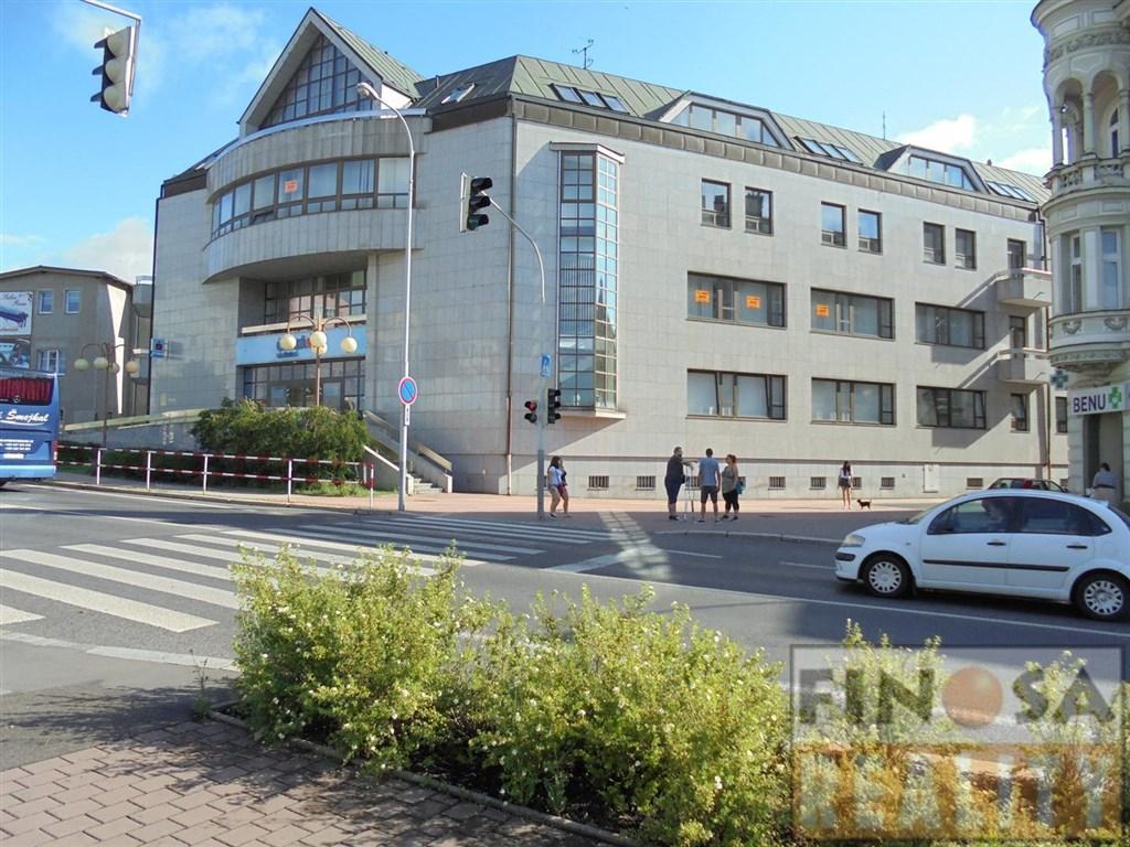 """Zajímavé nebytové prostory v nově vznikajícím administrativně-komerčním centru na """"dobré adrese"""" v Děčíně"""