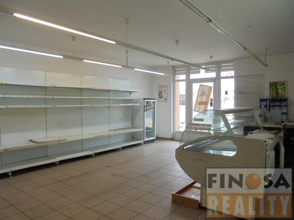 Nájem hezké prodejny v Markvarticích u Děčína.