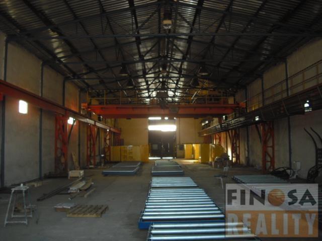 Nájem samostatně stojící výrobní a skladové haly v Chomutově