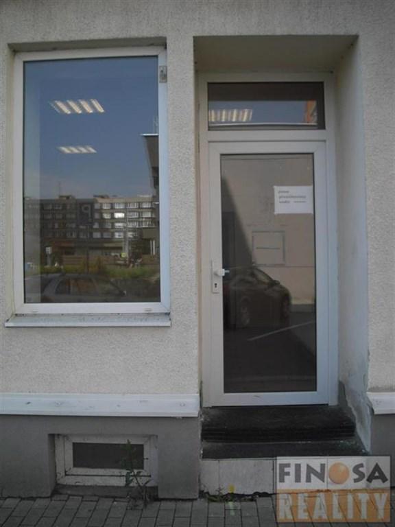 Nájem přízemního nebytového prostoru v centru Chomutova