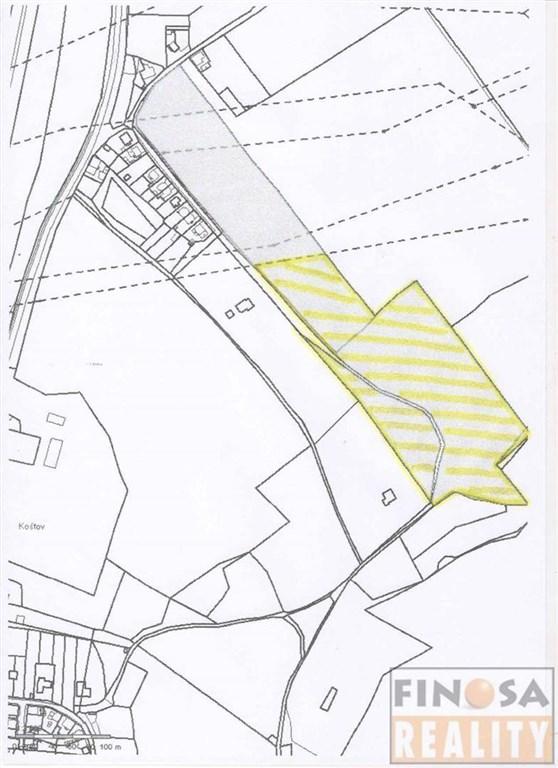 Na prodej velký pozemek v Trmicích, okres Ústí