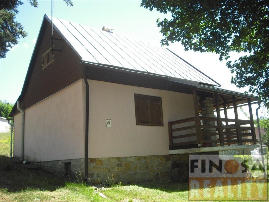 Na prodej rekreační chata na břehu Nechranické přehrady