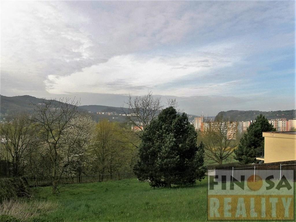 Stavební pozemek v Ústí nad Labem-Krásné Březno.