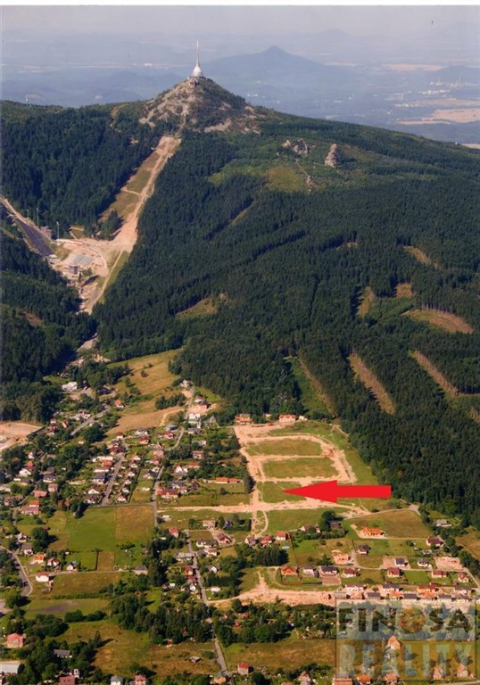 Pozemky pro stavbu RD v Liberci na úpatí Ještědu – Horní Hanychov