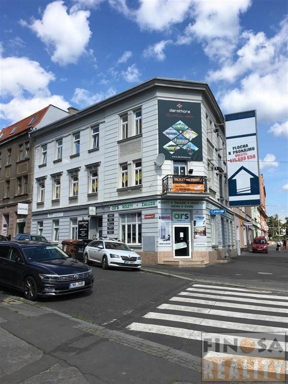 Dům s obchodními a kancelářskými prostory v Ústí nad Labem, ul. Masarykova
