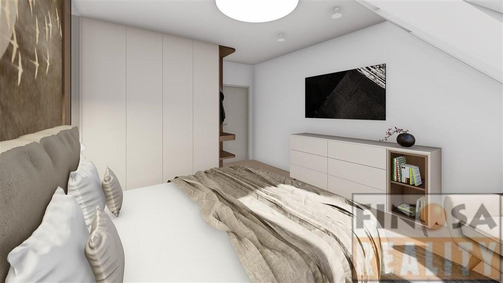 Novostavba bytu 3+KK (98,3 m2) v Praze-Holešovicích, ul. Milady Horákové