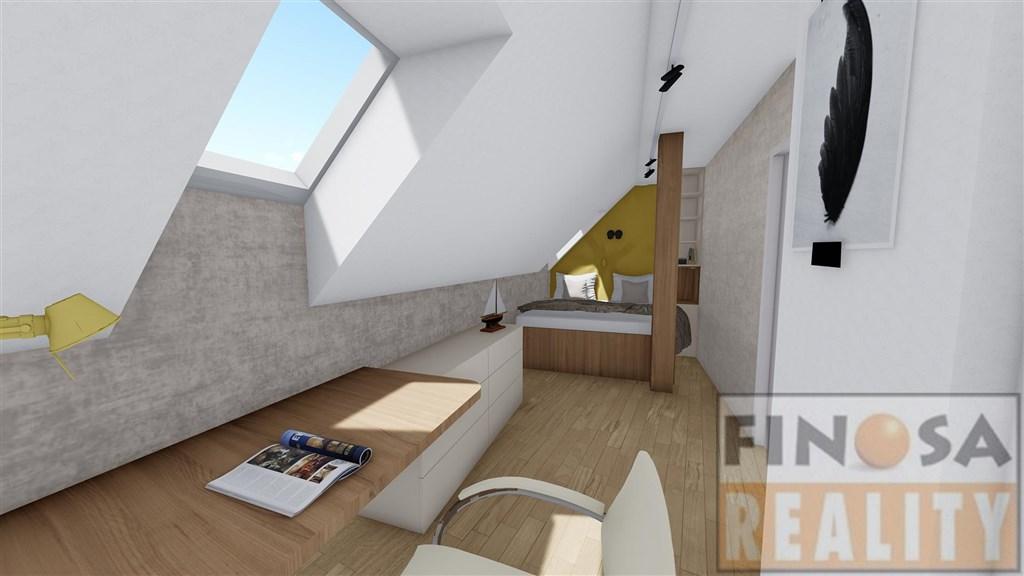 Novostavba bytu 3+KK (119,8 m2) v Praze-Holešovicích, ul. Milady Horákové