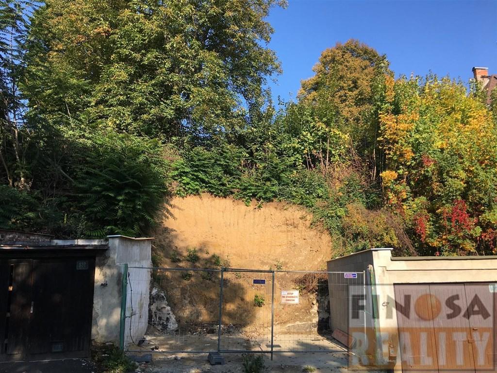 Pozemek pro stavbu rodinného domu v centru města Ústí nad Labem