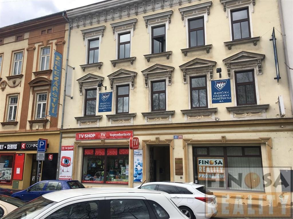 Prodejna s výlohou v centru města Ústí nad Labem, ul. Vaníčkova