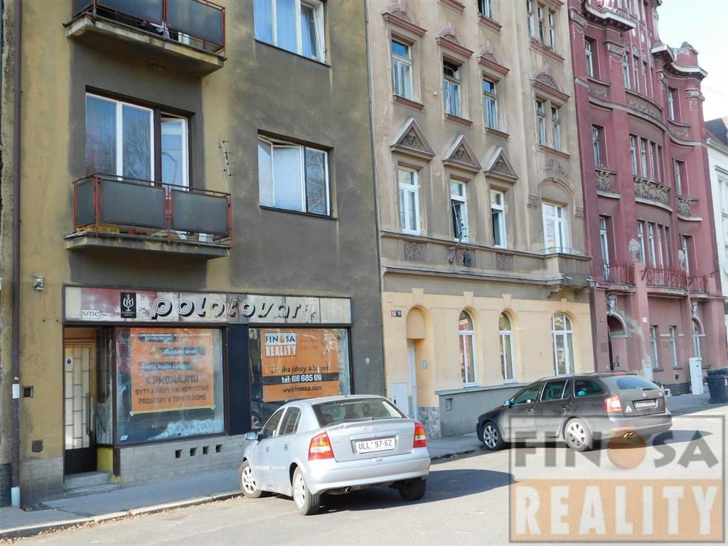 Prodejní nebo kancelářské prostory v Ústí nad Labem-Střekov, ul. Varšavská