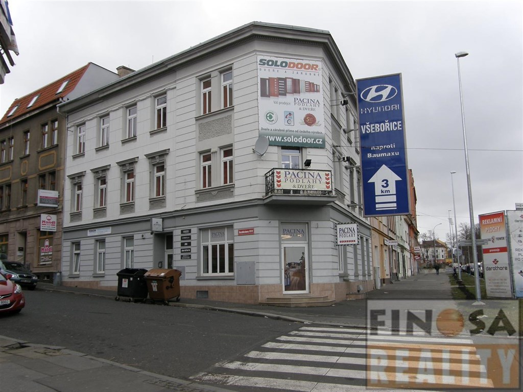 Pronájem kanceláří v obchodně administrativní budově nedaleko centra Ústí nad Labem, ul. Bozděchova, Masarykova