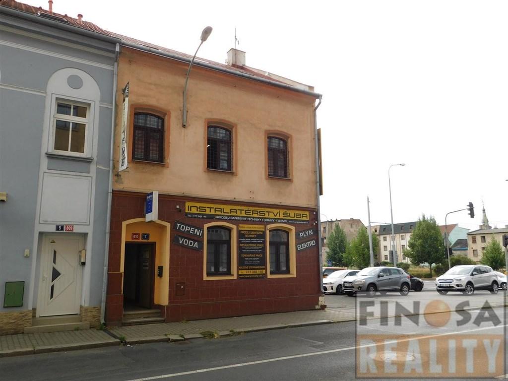 Dům s pozemkem v centru města Ústí nad Labem, ul. Brněnská